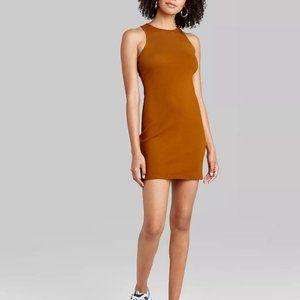 Women's Sleeveless Dress - Rust Color - NWT